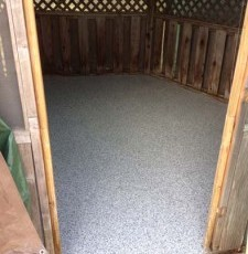 Shakopee Garage and Gazebo Floor Coating